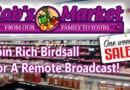 Rich Birdsall at Rob's Market For The 1 Week Sale